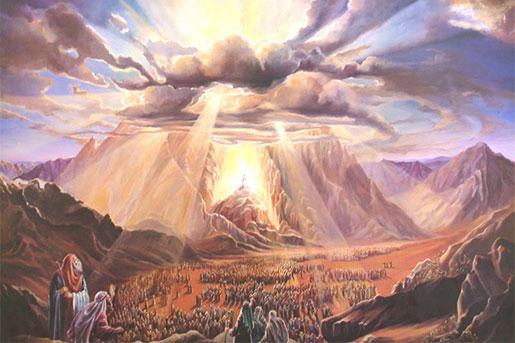 получение Торы на Синае